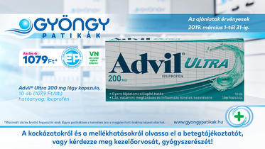 Advil Ultra lágy kapszula 10x