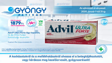 Advil Cold Rapid lágy kapszula 20x